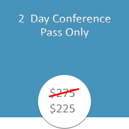 2 Day Conference Pass Only